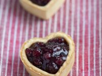 Gluten Free Cranberry Heart Cookies recipe