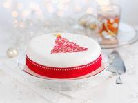 Gluten Free, Dairy Free Festive Iced Fruit Cake recipe