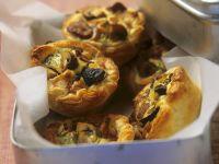 Gluten-free Individual Mushroom Quiches recipe