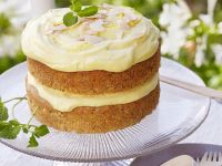 Gluten Free Parsnip, Poppy Seed and Lemon Sandwich Cake recipe