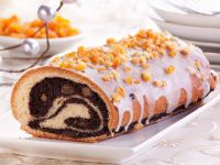 Gluten Free Poppyseed Strudel with Orange Crust recipe