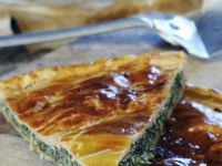 Gluten Free Spinach, Feta and Ricotta Pie recipe