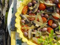 Gluten Free Vegetable Tart