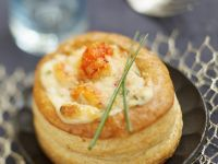 Gluten Free Warm Crayfish Vol-au-vents recipe