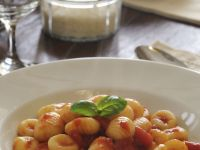 Gnocchi and Tomato Sauce recipe