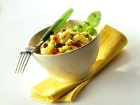 Gnocchi and Vegetable Salad recipe
