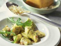 Gnocchi with Arugula and Pecorino recipe