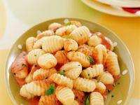 Gnocchi with Creamy Tomato Sauce recipe