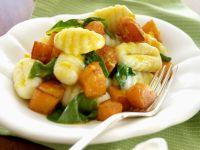 Gnocchi with Pumpkin and Basil recipe