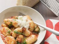 Gnocchi with Tomato Parmesan Sauce recipe
