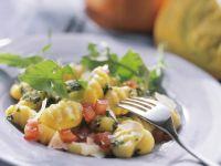 Gnocchi with Wild Herb Pesto recipe