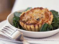 Goat Cheese Quiches recipe