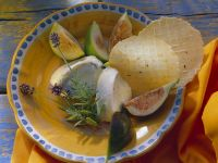 Goat Cheese with Rosemary, Figs and Crackers recipe