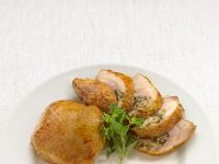 Golden Chicken Pieces with Stuffing recipe