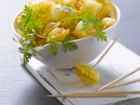 Golden Pasta Dumplings recipe