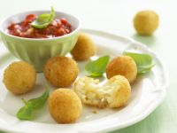 Golden Rice Balls recipe