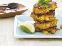 Golden Vegetarian Cakes recipe
