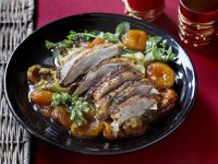 Goose with Preserved Fruits recipe