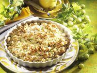 Gooseberry Crumble recipe