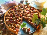 Gooseberry Pie with Almond Streusel Topping recipe