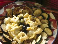 Gorgonzola Fondue with Tortellini recipe