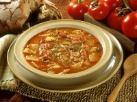 Paprika and Fish Soup recipe