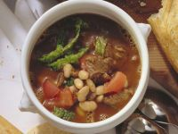 Goulash Soup with Beans recipe