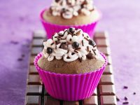 Gourmet Choc Cakes with Topping recipe
