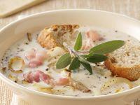 Gourmet Chowder with Crusty Bread recipe