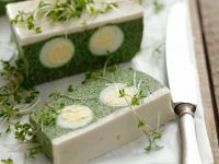 Gourmet Egg and Green Leaf Loaf recipe