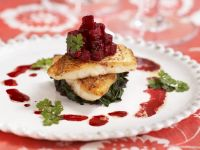 Gourmet Fish Fillets with Beetroot recipe