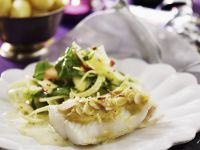 Gourmet Fish with Nutty Sauce recipe