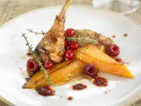 Gourmet Game Bird with Berries recipe