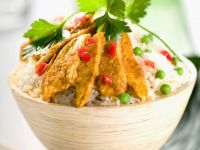 Gourmet Indian Chicken with Rice recipe