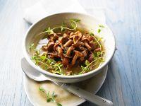Bowl of Gourmet Mushroom Broth recipe