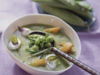 Gourmet Pea Bisque recipe