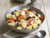 Gourmet Potato Salad with Capers recipe