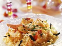 Gourmet Seafood Risotto recipe