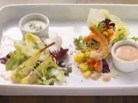 Gourmet Shrimp Salad Plate recipe