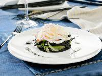 Gourmet Squid Ink Pasta Dish recipe