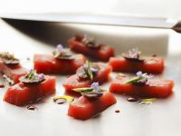 Gourmet Tuna Sashimi recipe