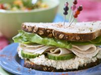 Gourmet Turkey Sandwich recipe
