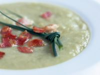 Gourmet Veg Bisque with Chives recipe