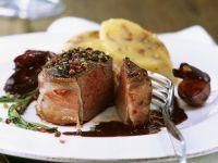 Gourmet Venison Steaks recipe