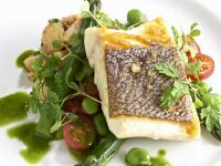 Gourmet White Fish Fillet with Vegetables recipe