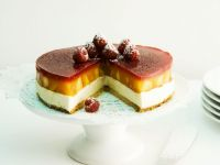 Gourmey Stone Fruit and Berry Gateau recipe
