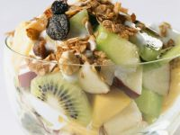 Granola and Fruit Bowls recipe
