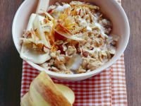 Granola with Apples and Carrots recipe