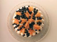 Grapefruit and Blueberry Pie