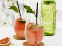 Grapefruit Drink with Lime recipe